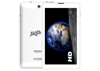 TABLET INFINITON 7 PULGADAS EARTH 7.0 3G BLANCA
