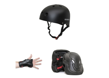 PROTECTION KIT INFINITON CASCO+EXTREMIDADES NEGRO
