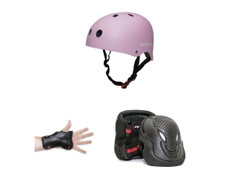 PROTECTION KIT INFINITON CASCO+EXTREMIDADES ROSA