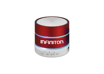 ALTAVOZ MULTIMEDIA INFINITON BLUETOOTH K3 RED