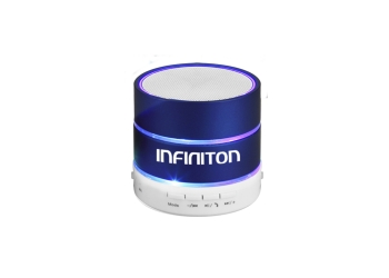 ALTAVOZ MULTIMEDIA INFINITON BLUETOOTH K3 BLUE