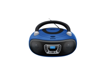 BOOMBOX INFINITON MPCD-BT94 AZUL - CD/BLUETOOTH