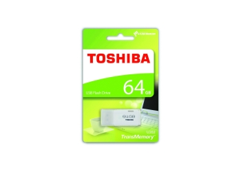 PENDRIVE TOSHIBA U202 - 64GB - USB 2.0 - BLANCO