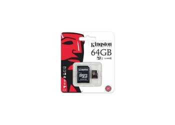 TARJETA KINGSTON MICRO SD 64GB CLASE 10