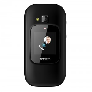 FLIP FEATURE PHONE INFINITON U1 NEGRO